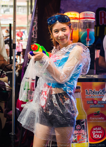 Сонгкран, Бангкок, Таиланд