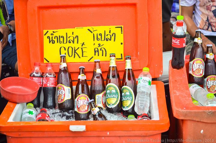 Алкоголь в Сонгкран