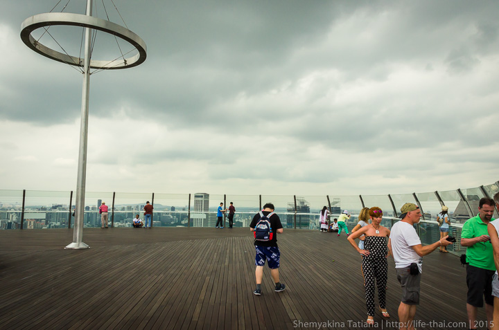 Sky Park, Отель Marina Bay Sands, Сингапур