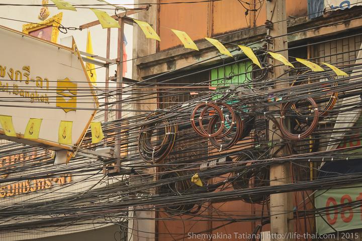 Хаос в проводах, Таиланд