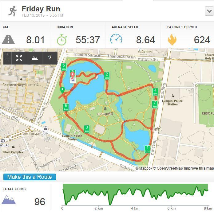 Lumpini park, пробежка в Люмпини парк в Бангкоке