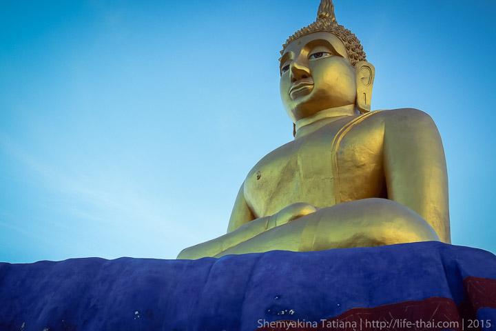 Большой Будда, фото Хуа Хин