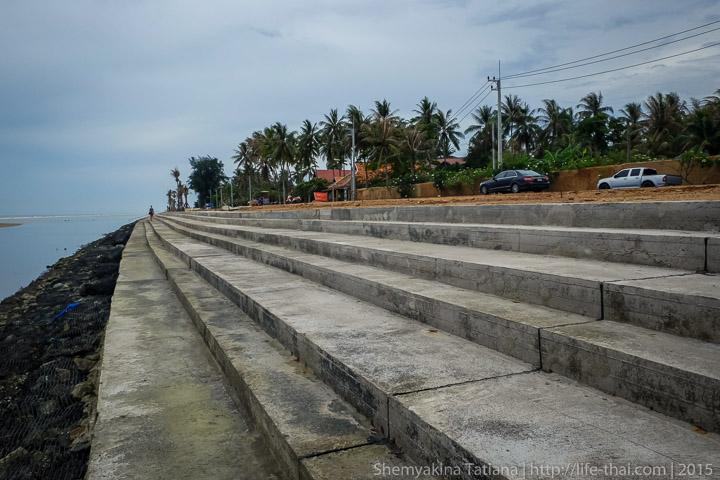 Дорога, берег, Таиланд