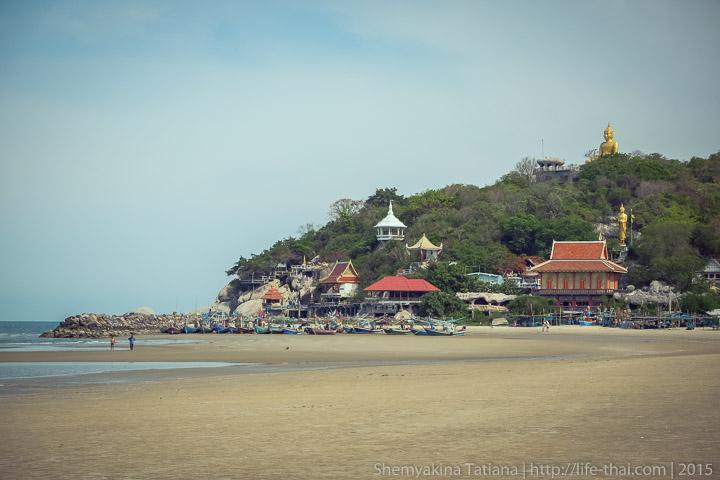 Храм на берегу Кхао Тао, Хуа Хин