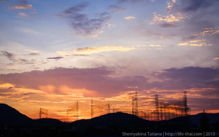 Закат, Хуа Хин, фото