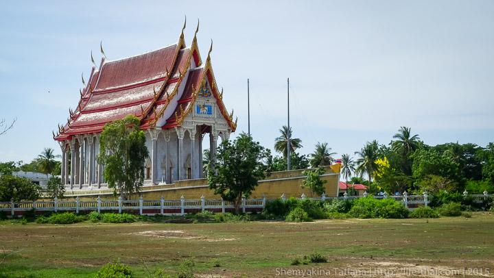 Храм-лодка в Хуа Хине, Таиланд