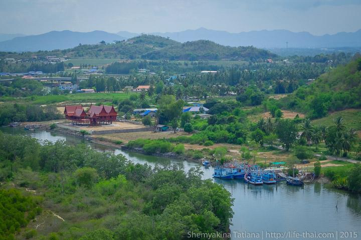 река Пранбури, Таиланд