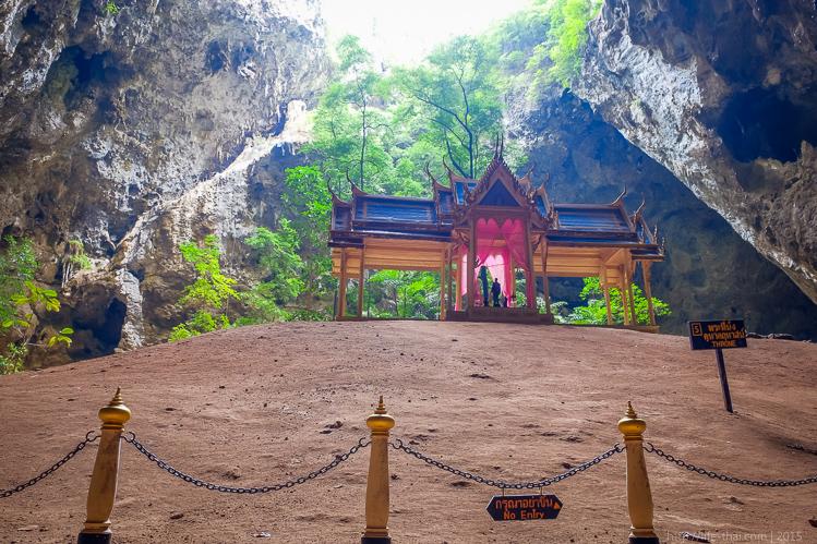 Пещера Прайя Накхон в Таиланде