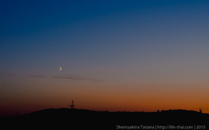 Луна в Крыму