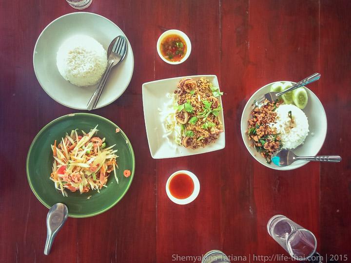 Тайская еда, Таиланд