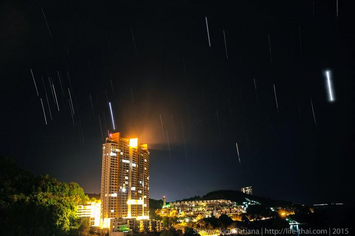 Пенанг, Малайзия, ночь