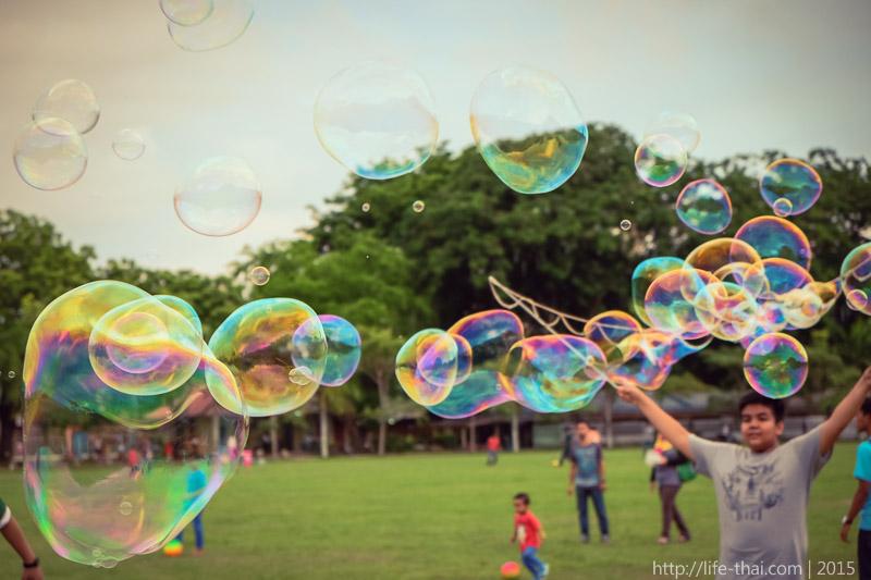 Мыльные пузыри, Пенанг