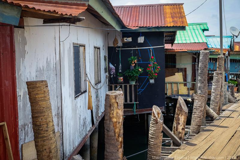 Рыбацкая деревня на Лангкави, Малайзия