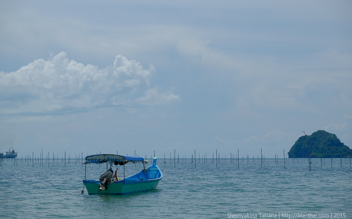 Лодка, остров Лангкави, Малайзия