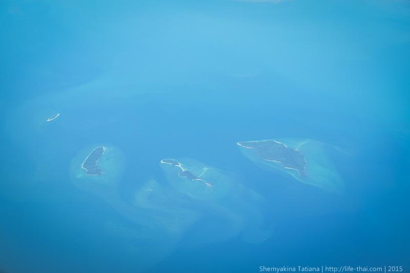 Вид из окна самолёта