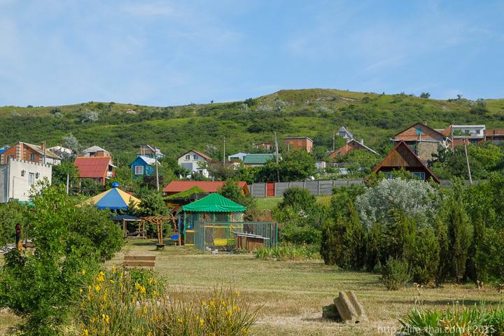 Страусовая ферма в Керчи, пейзаж