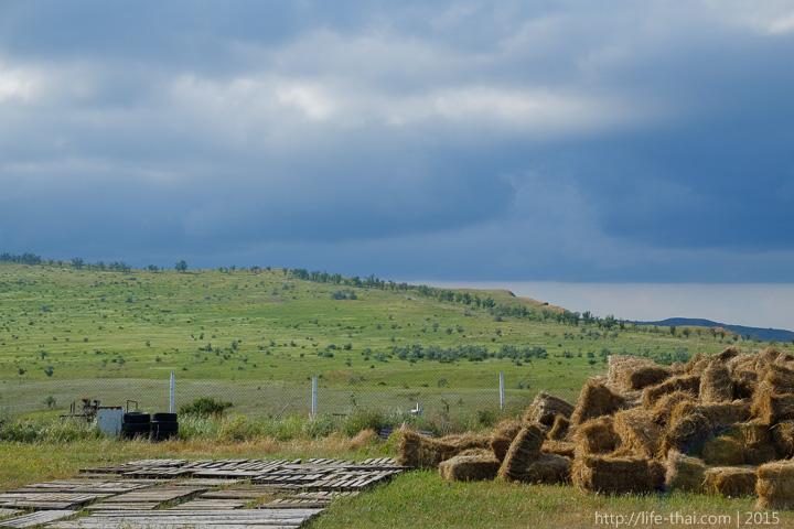Небо в грозовых тучах, Керчь, Крым