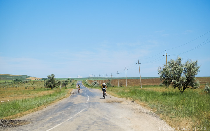 Дорога на озеро Чокрак, Керчь