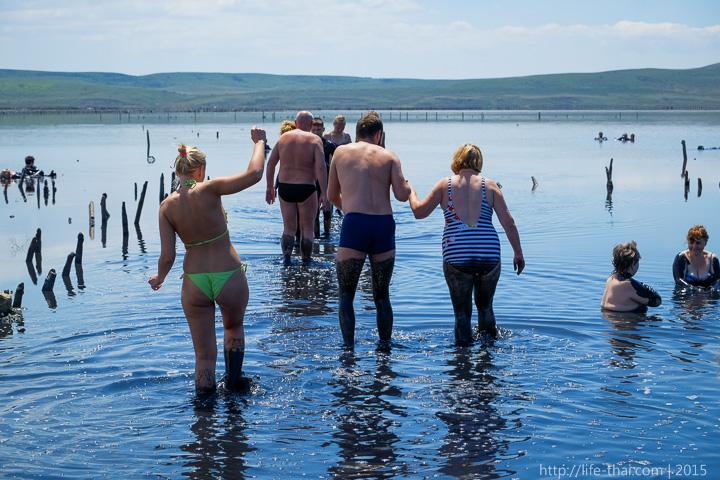 Озеро Чокрак, Керчь, Крым