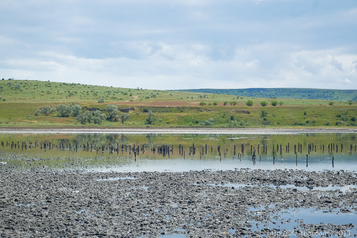 Озеро Чокрак, фото, Керчь, Крым