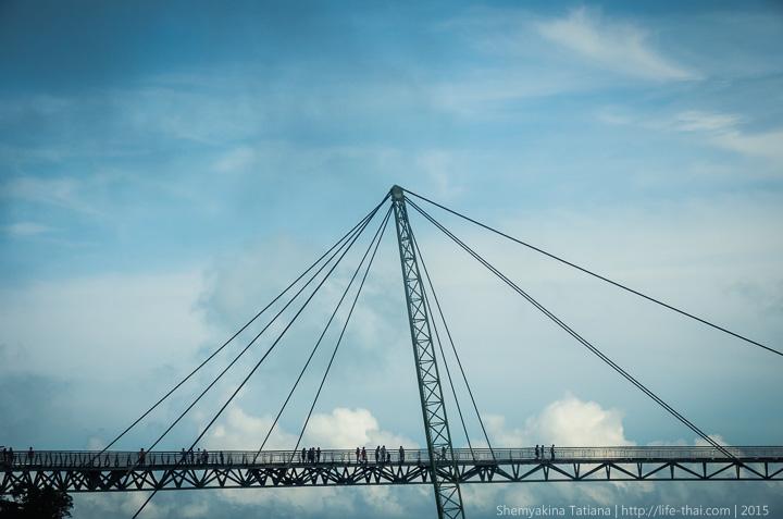 Лангкави, мост над пропастью