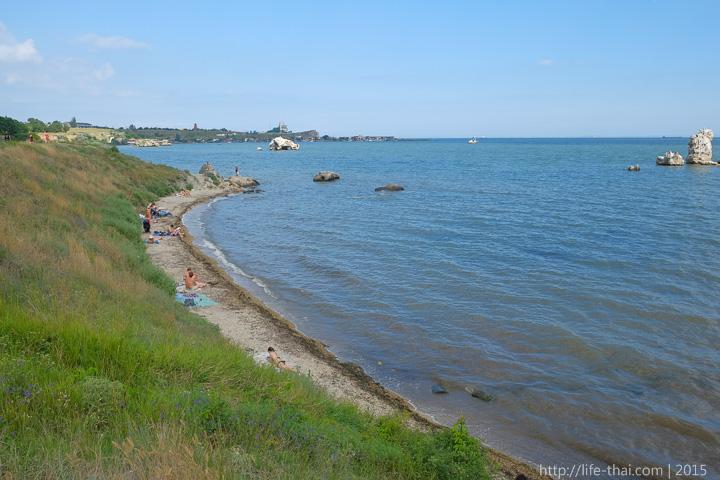 Дикие пляжи, Керчь, Крым