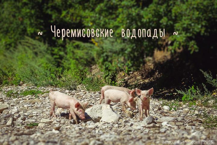 Черемисовские водопады, Крым