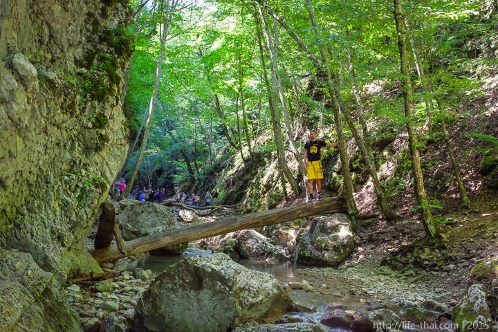 Черемисовские водопады, фото, Крым