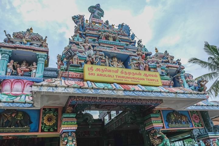 Индуистский храм, Пенанг Хилл, Малайзия