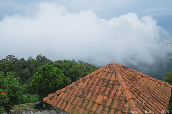 Пенанг, вид с горы Пенанг Хилл, Малайзия