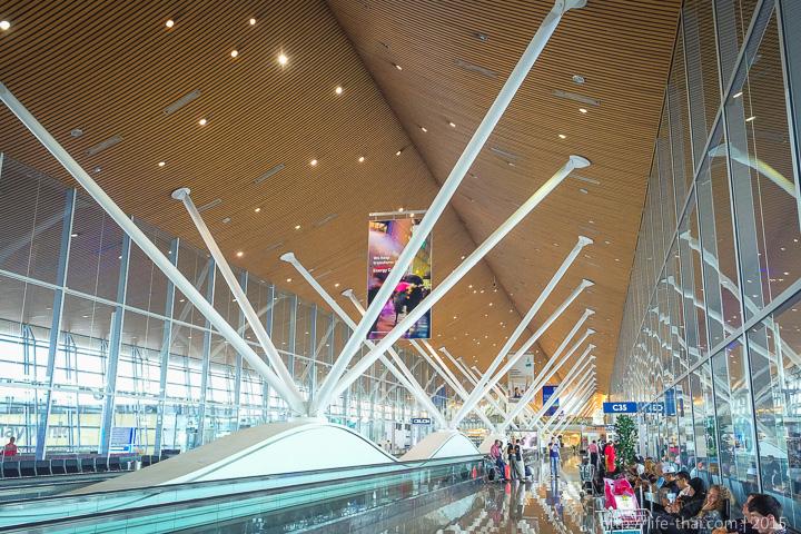 Аэропорт Куала Лумпур, зал ожидания