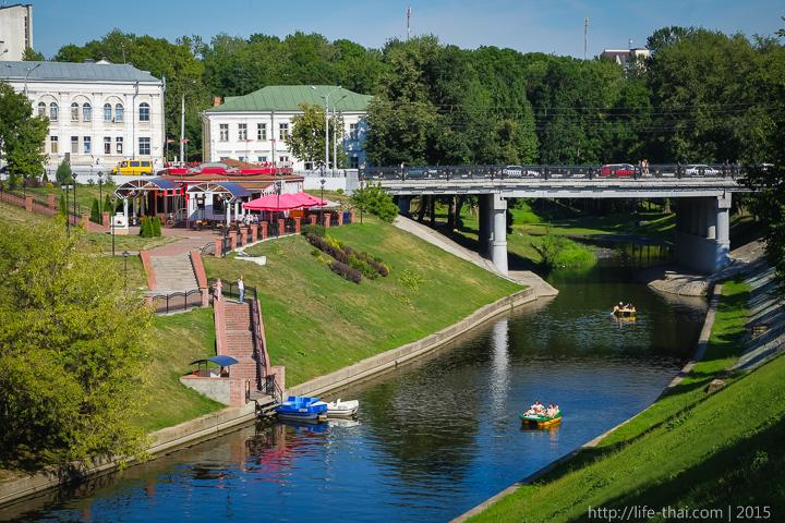 Река Витьба, Витебск