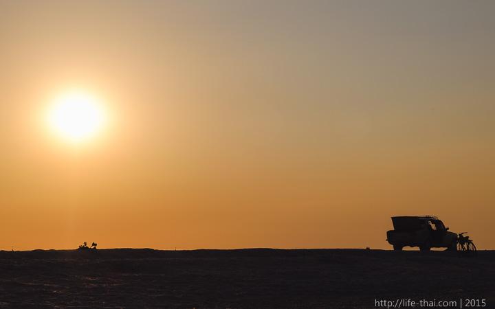 Татарская бухта, Крым, закат, фото