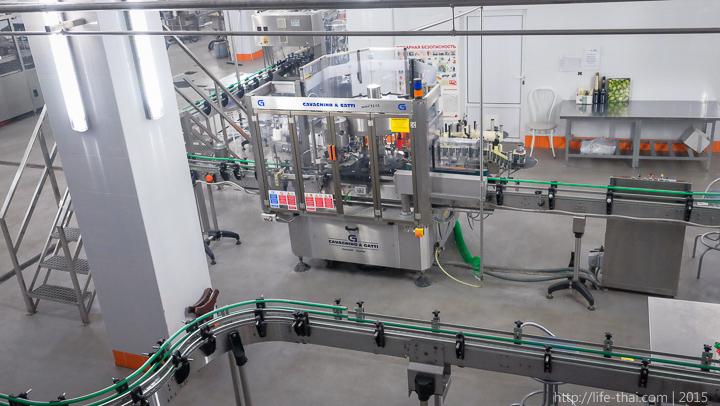 Абрау-Дюрсо, завод шампанских вин