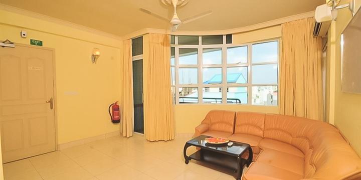 Бюджетный отель на Мальдивах