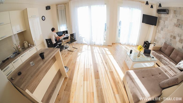 Как снять апартамент в Черногории