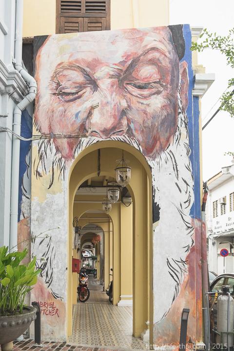 Граффити Джорджтауна, Пенанг, Малайзия