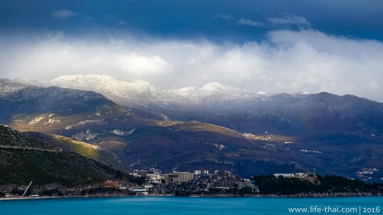 Зима в Черногории, Будва, фото