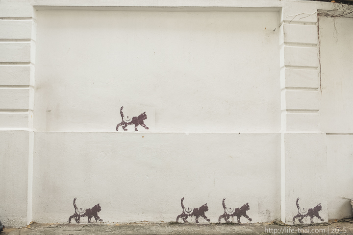 Граффити в Джорджтауне, Пенанг, Малайзия