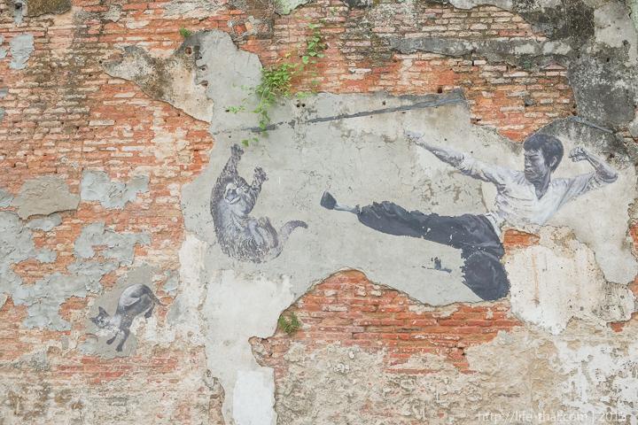 Пенанг, Джорджтаун, граффити