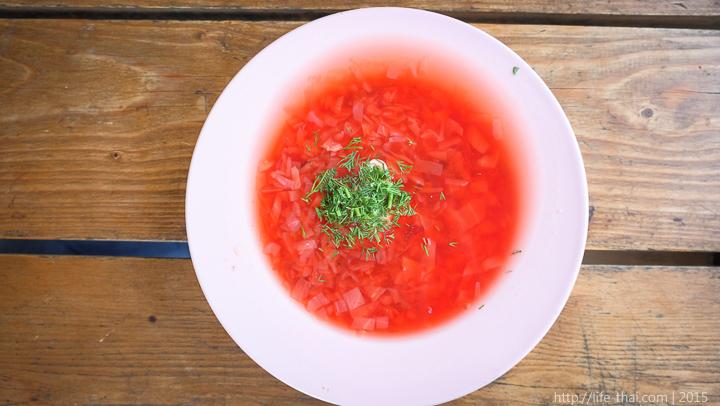 Вегетарианский суп, Геленджик