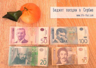 Наши расходы в Белграде