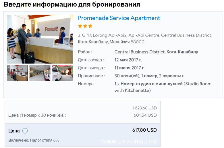 Цена отеля на Агоде