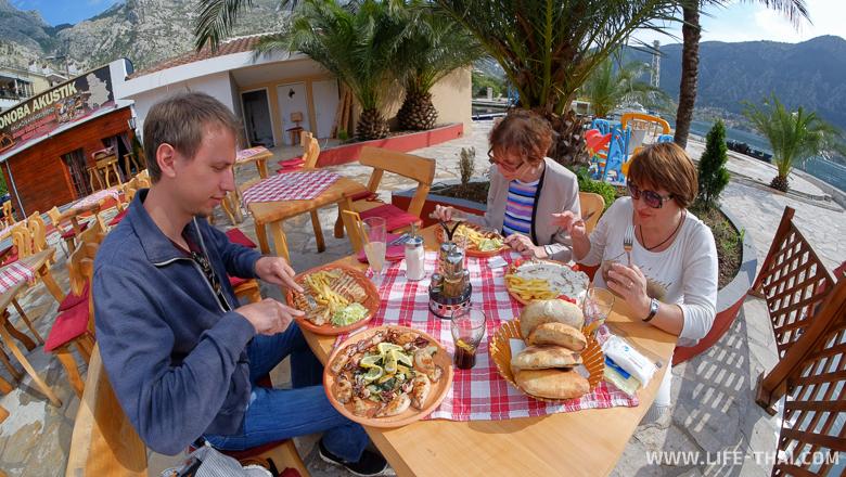 Цены на еду в Которе. Где лучше обедать или ужинать