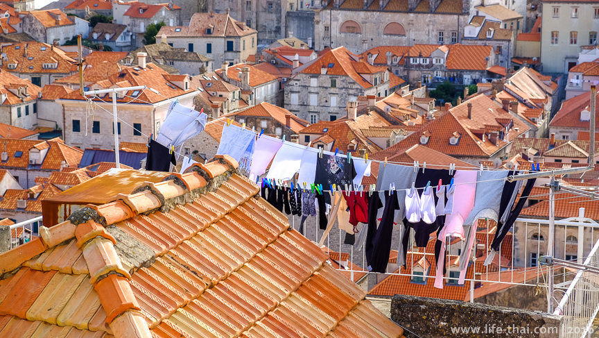 Фото, Дубровник, выстиранное белье