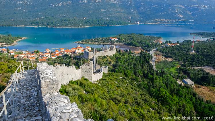 Стонская стена, Хорватия, Фото