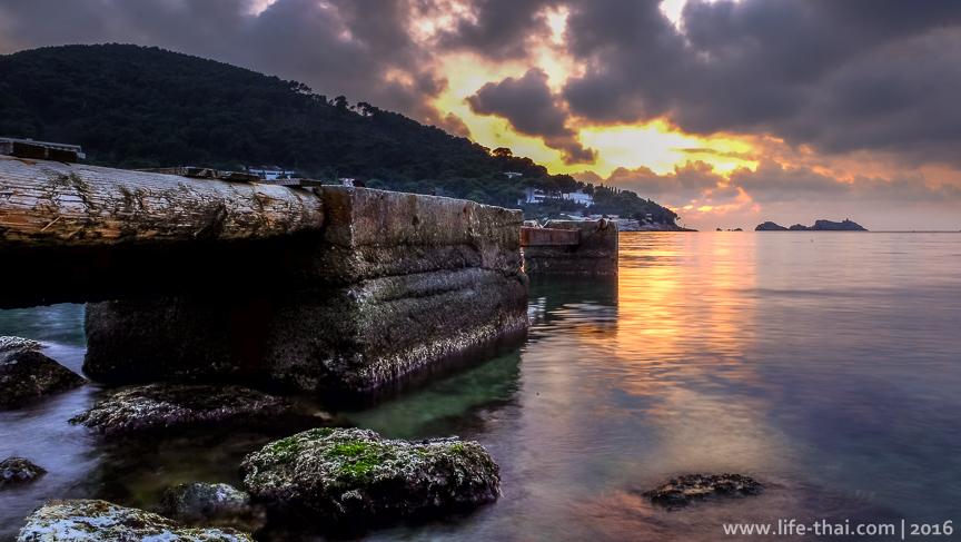 Закаты в Дубровнике, фото, Хорватия