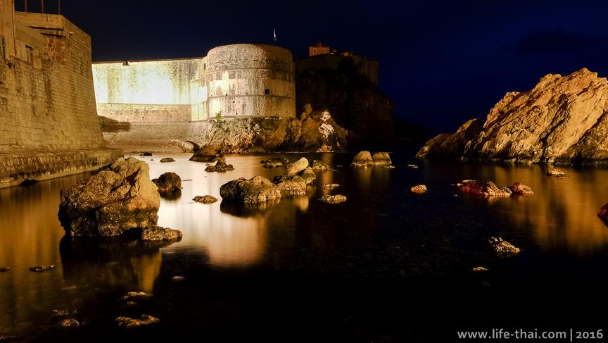 Хорватия, Королевская гавань, январь в фото на life-thai.com