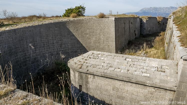 Капониры форта Горажда, Черногория