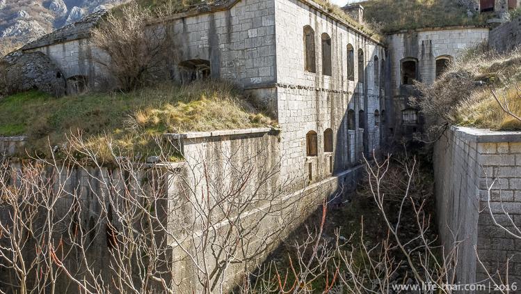 форт Горажда, Черногория